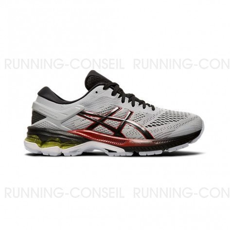 ASICS GEL-KAYANO 26 Homme | Piemont Grey / Black
