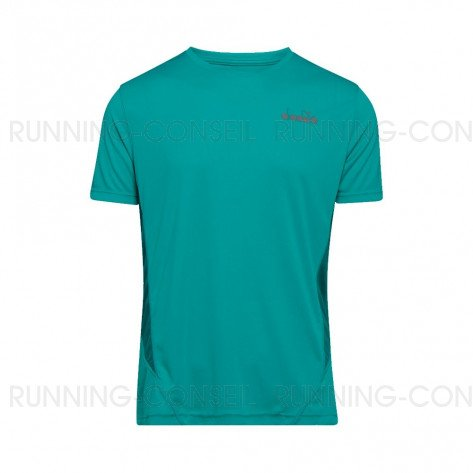 DIADORA T-SHIRT MANCHES COURTES X-RUN HOMME | ATLANTIS C | Collection Printemps-Été 2019