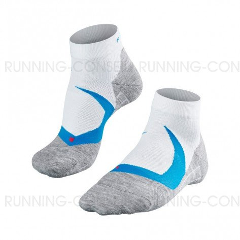 FALKE CHAUSSETTES RUNNING RU4 COOL SHORT HOMME | WHITE | Collection Printemps-Été 2019