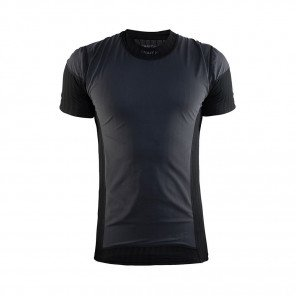 CRAFT T-SHIRT ACTIVE EXTREME 2.0 MANCHES COURTES HOMME | NOIR | Collection Printemps-Été 2019