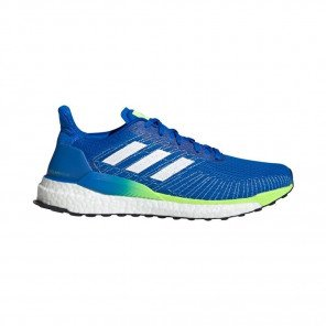 ADIDAS SOLARBOOST 19 Homme | Glory Blue / Ftwr White / Signal Green